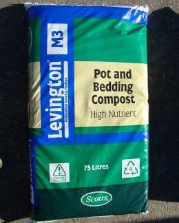 Levington M3 (Pot and Bedding compost High Nutrient)