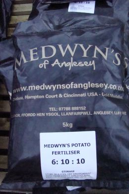 MEDWYNS POTATO FERTILISER 6:10:10 - 5 KG BAG